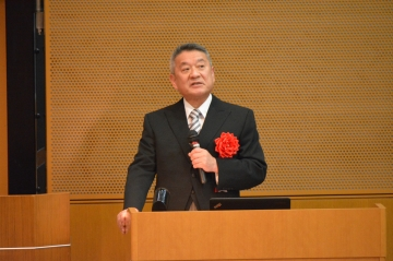 教育方針を語る吉澤学長