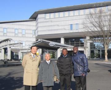 Asian-African Research Forum 2014(仙台市)における野口研からの参加者