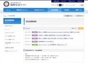 統合国際機構運営ホームページ