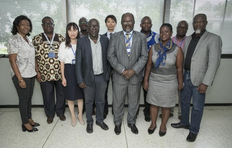 東京医科歯科大学およびガーナ・野口研のJ-GRIDプロジェクト関係者