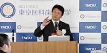 記者懇談会(平成28年度第5回)「オートファジーと疾患」を開催しました