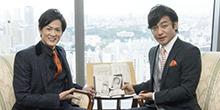 NHK正月時代劇「風雲児たち」片岡愛之助さん新納慎也さん合同インタビュー