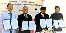 マヒドン大学シリラート病院医学部とのJDP開設にかかる協定書の調印式を行いました